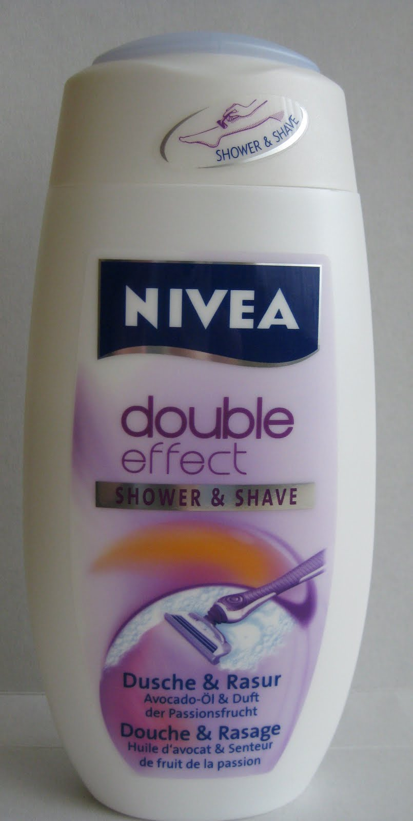 test nivea double effect shower shave innenaussen. Black Bedroom Furniture Sets. Home Design Ideas