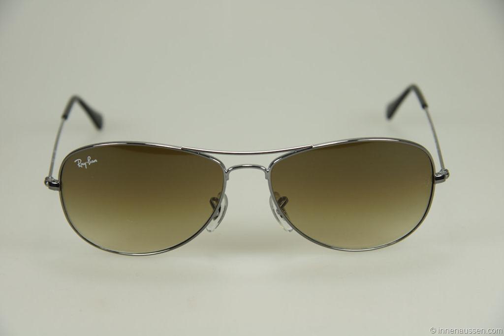 ray ban brille drückt an nase