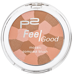 feel good mosaic compact blush