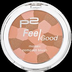 feel good mosaic compact blush