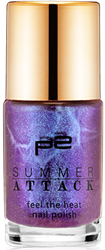 feel the heat nail polish_010_flirtin' purple