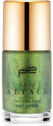 feel the heat nail polish_050_green_palm_tree