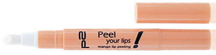 peel your lips! mango lip peeling