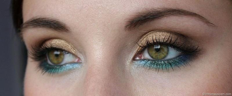 Roselyn sonntag summer smokey eyes mit tutorial innenaussen for Smokey eyes blau