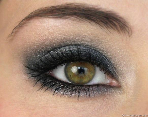 roselyns sonntag graue smokey eyes mit tutorial innenaussen. Black Bedroom Furniture Sets. Home Design Ideas
