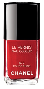 LE VERNIS_677 Rouge Rubis