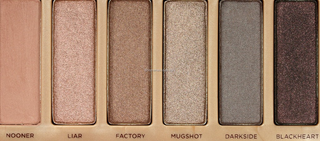 Review und Vergleich Urban Decay Naked 3 + Naked 1, Naked 2 und ...