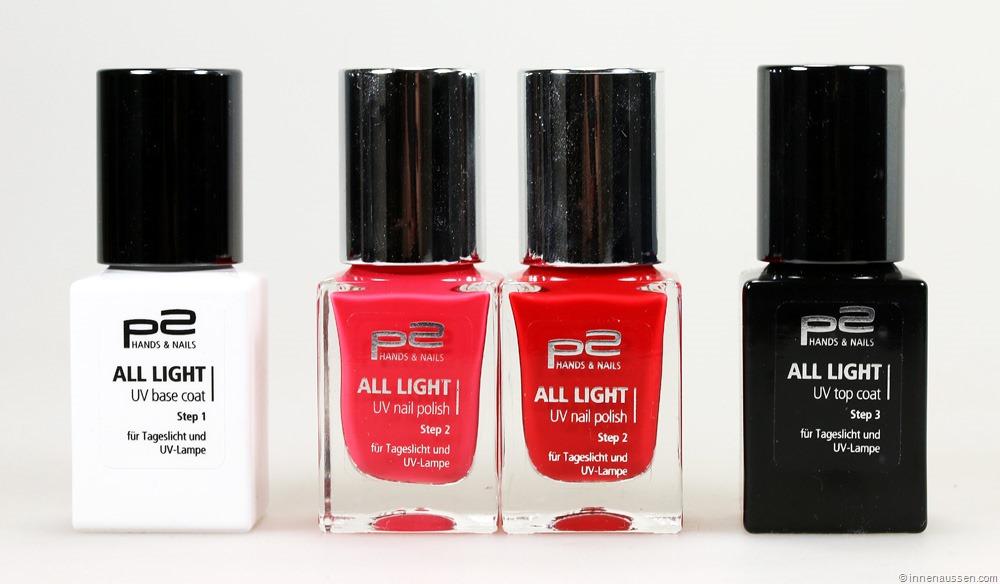 review p2 all light uv nail polish uv nagellack innenaussen. Black Bedroom Furniture Sets. Home Design Ideas