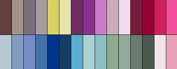 Farbpalette Sommertyp