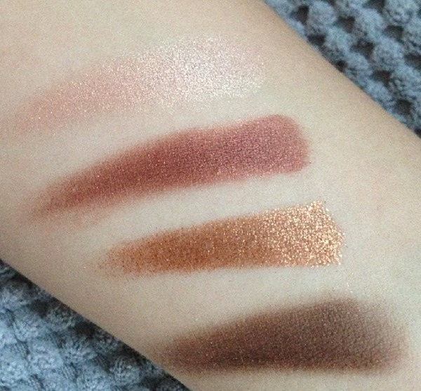 Swatches Charlotte Tilbury