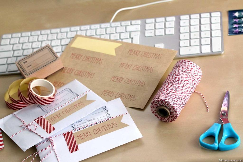 Endspurt Weihnachten 2014–Geschenke einpacken. Und bei euch ...