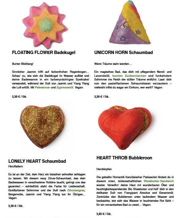 Lush is in the air–Valentinstag Edition - InnenAussen