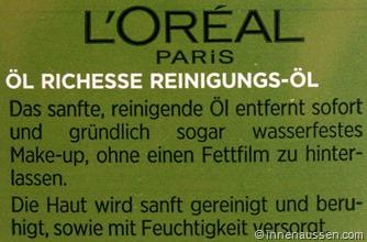 Loreal-Öl-Richesse-Reinigungsöl-Innen-Aussen-Erfahrung