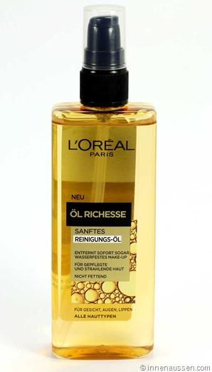 Loreal-Öl-Richesse-Reinigungsöl