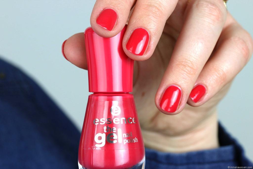 erfahrung haltbarkeit essence the gel nail polish nagellack innenaussen. Black Bedroom Furniture Sets. Home Design Ideas