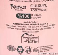 Rosense-Rosenwasser-Erfahrung