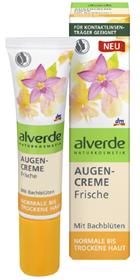 alverde-Bachblüten-Augencreme