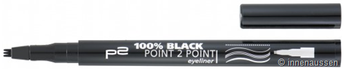 p2 Black Point 2 Pint Eyeliner