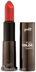 p2 Full Color Lipstick 010 InnenAussen