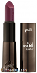 p2 Full Color Lipstick 050 InnenAussen