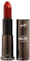 p2 Full Color Lipstick 120 InnenAussen