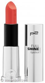 p2 Full Shine Lipstick 010 InnenAussen