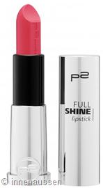 p2 Full Shine Lipstick 020 InnenAussen