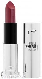 p2 Full Shine Lipstick 040 InnenAussen