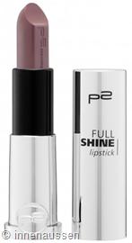 p2 Full Shine Lipstick 090 InnenAussen