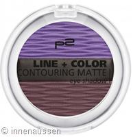 p2 Line Color Contouring Matte Eyeshadow 0160 InnenAussen
