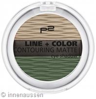 p2 Line Color Contouring Matte Eyeshadow 030 InnenAussen