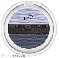p2 Line Color Contouring Matte Eyeshadow 040 InnenAussen
