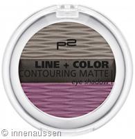 p2 Line Color Contouring Matte Eyeshadow 050 InnenAussen