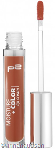 p2 Moisture Color Lip Cream 060 InnenAussen
