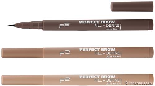p2 Perfect Brow Fill Define Slim Liner InnenAussen