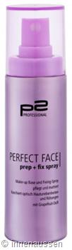 p2 Perfect Face Prep Fix Spray InnenAussen
