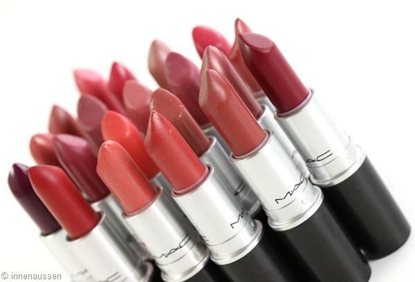 MAC-Sammlung-Lippenstifte