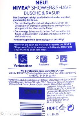 Inhaltsstoffe-Nivea-Shower-Shave-Innen-Aussen