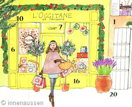 Adventskalender-Beauty-2015-L'Occitane-Innen-Aussen-Detail