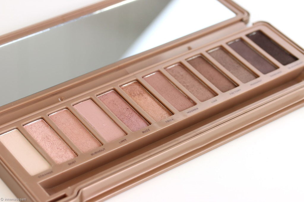 Test - Eyeshadow - Urban Decay Naked 3 Palette