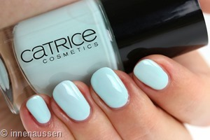 Catrice 113 You r on my mint Swatch Innen Aussen