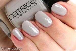 Catrice 116 Grezy in love Swatch Innen Aussen