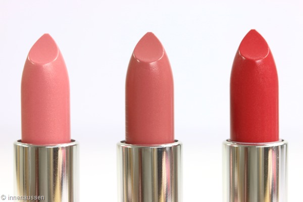 Maybelline Color Sensational Blushed Nude Lippenstift Innen Aussen Farben