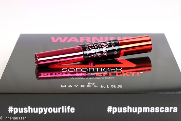 Maybelline Push Up Drama Mascara Innen Aussen