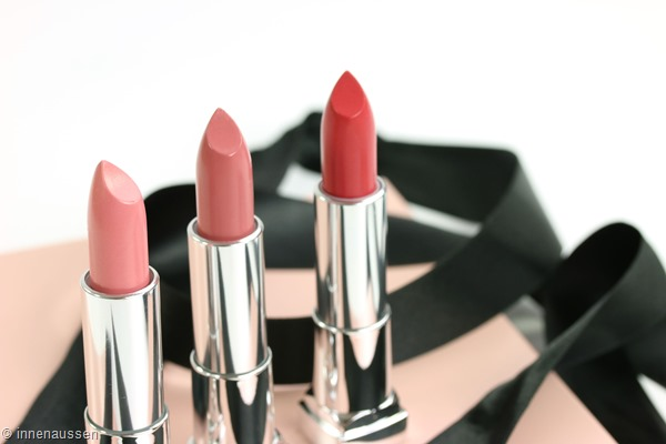 Maybelline The blushed Nudes Color Sensational Lippenstifte Innen Aussen