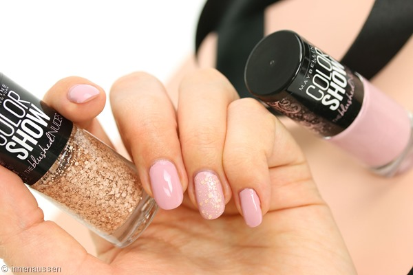 Maybelline The blushed Nudes Nagellack Innen Aussen