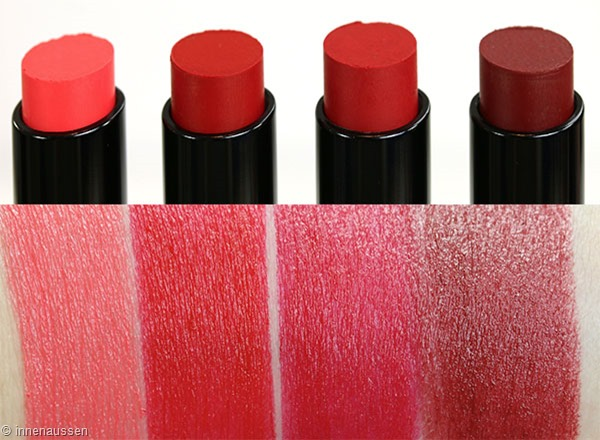 Astor Perfect Stay Lippenstift Swatches Innen Aussen