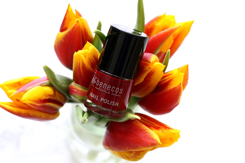 Benecos Nagellack Cherry Red