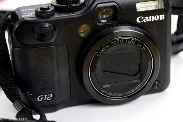 Canon Powershot G12 Innen Aussen