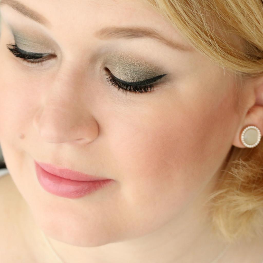 FOTD - Softes Grün und Nude-Lips - InnenAussen